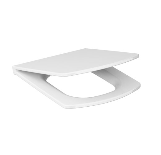K98 0089 toilet seat easy duroplast soft close for Faience wc toilette