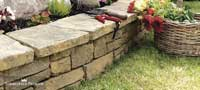 Blocks for masonry Semmelrock Bradstone Mountain Block